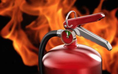Fire extinguisher training in Kent